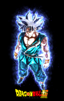 Son Goku Mastered Ultra Instinct with Aura by ajckh2