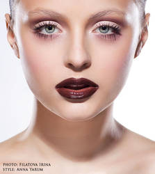 beauty face 6 by FILIUS