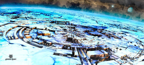 Antartic Base I by IvanDuran9