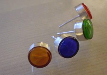 button earrings by bionic-dingo
