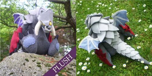DOTA 2- Roshan Plush by bionic-dingo