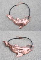 Koi neckpiece by bionic-dingo