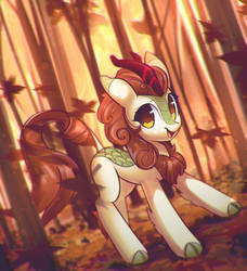 Autumn Blaze by mirroredsea