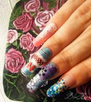 Summer nails by RoseEmma