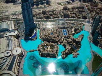 Next To Burj Khlifa II by ahmedcool