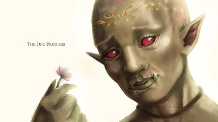 The Orc Princess by PureMissa