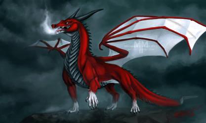 Valcdor the Burninator by PureMissa