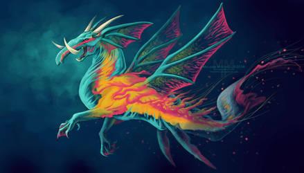 EllyJelly Dragon by PureMissa
