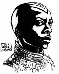 Okoye - Daily Drawing 2018 QUICKIE! by luisperezart