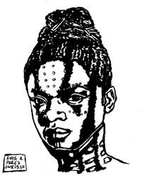 Shuri - Daily Drawing 2018 by luisperezart
