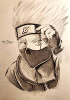 Kakashi Hatake (Naruto) by FrostKiller605