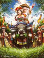 Book Illustration by VNC-Children