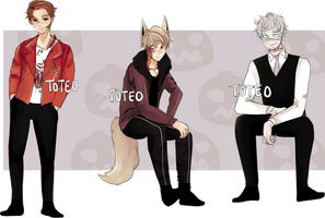 $13/1300pts HALLOWEEN ADOPTS [closed] by toteo