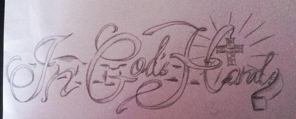 In Gods Hands Tattoo Design By Howlbaka On Deviantart