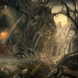 Matte - Lost among the ruins by MartaNael