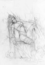 War Goddess by MartaNael