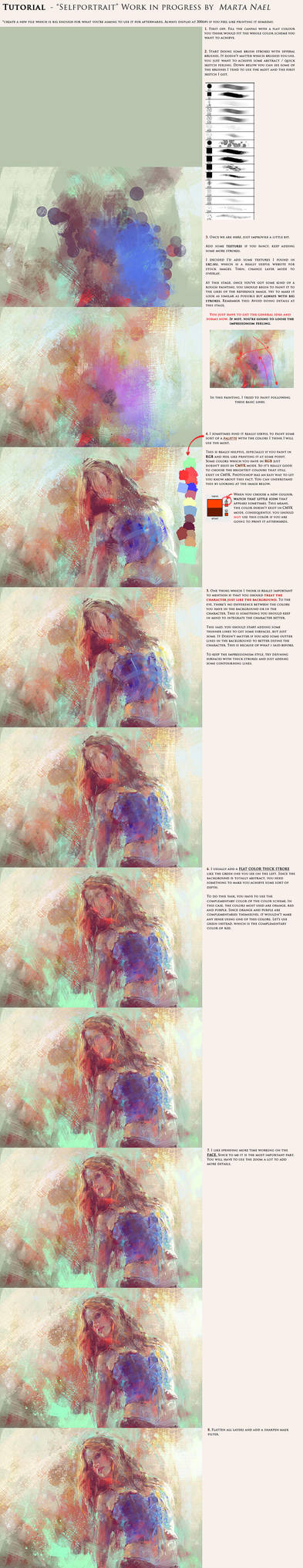 Digital Impressionism Tutorial by MartaNael
