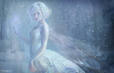White Fairy by MartaNael