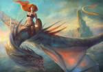 Dragon Warrior by MartaNael