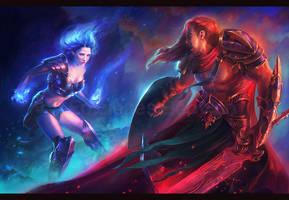 Magic Warriors by MartaNael