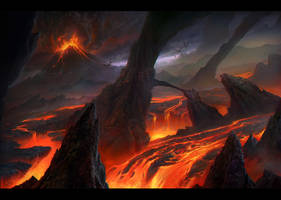 Lava Fields by MartaNael