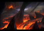 Lava Fields by MartaNael