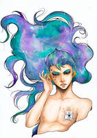 Galaxy by Ayuki-Drawing-Land