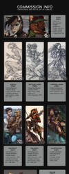 Commission info 2018 (NEWS) by Lurelin