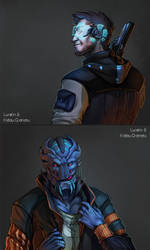 Bad space-boys by Lurelin