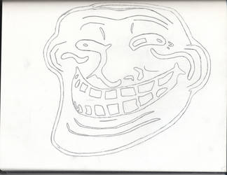 Trollface by godofimagination