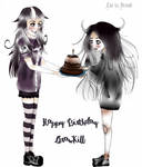 Happy Birhtday DrawKill by LittleGoa-t