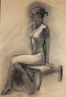 Seated posed-Erika by humblestudent