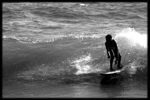 Surfing in Mazatlan b by Padx