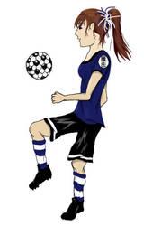 Random-ish Soccer Girl by Shalafi-sama