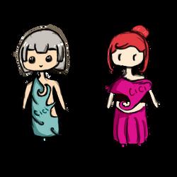 Oc Twins by cicialexa