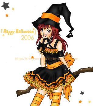 Kairi - Happy Halloween by shirononekojin