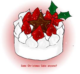 Christmas Cake by shirononekojin