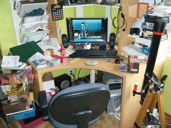 My Workspace Pt 2 by EcclecticCat