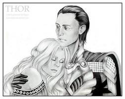 Loki x Sigyn by Kota-Stoker