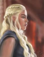 Daenerys Targaryen by KateFrankienaBeck