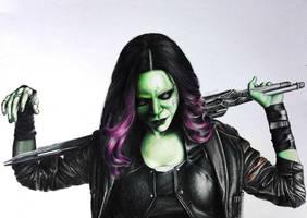 Gamora by KateFrankienaBeck
