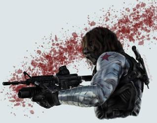 Winter Soldier by KateFrankienaBeck