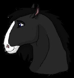 Spirit Stallion of the Cimarron Style Attempt by xX-NIGHTBANEWOLF-Xx