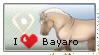 I love Bayaro Stamp by thebigwolflion