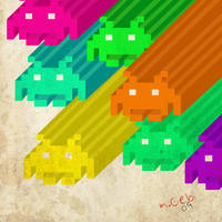 invaders by Chebi