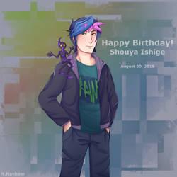 Happy Birthday Shouya Ishige by Natysora