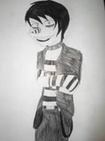Gothic Clown by DarkKillerPincess
