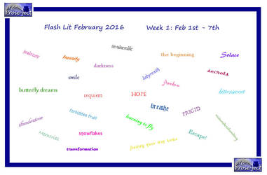 Flash Lit February (FLF) Week 1 by kiwi-damnation