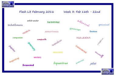 Flash Lit February (FLF) Week 3 by kiwi-damnation