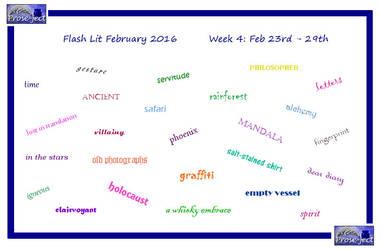 Flash Lit February (FLF) Week 4 by kiwi-damnation